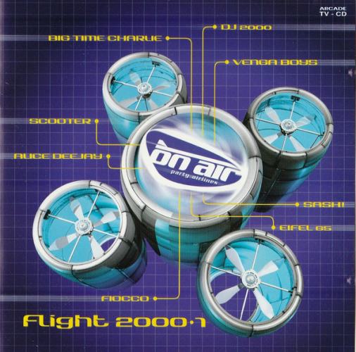 VARIOUS - On Air Party Airlines - Flight 2000•1 - CD