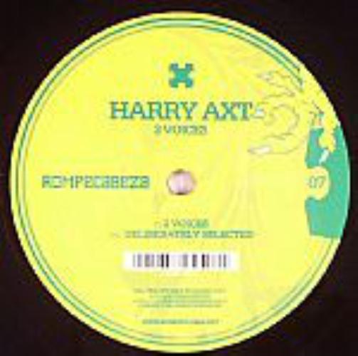 HARRY AXT - 2 Voices - Maxi x 1