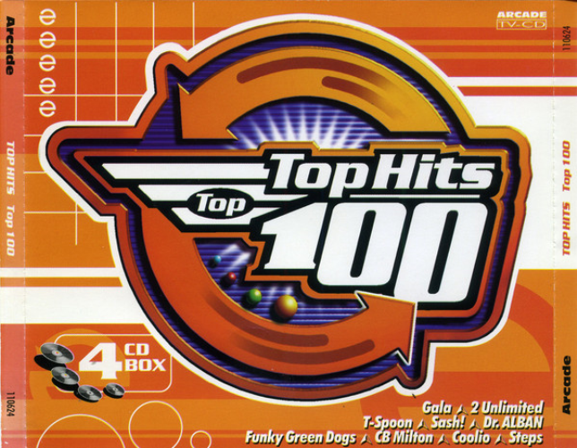 VARIOUS - Top Hits Top 100 Volume 3 - CD x 4