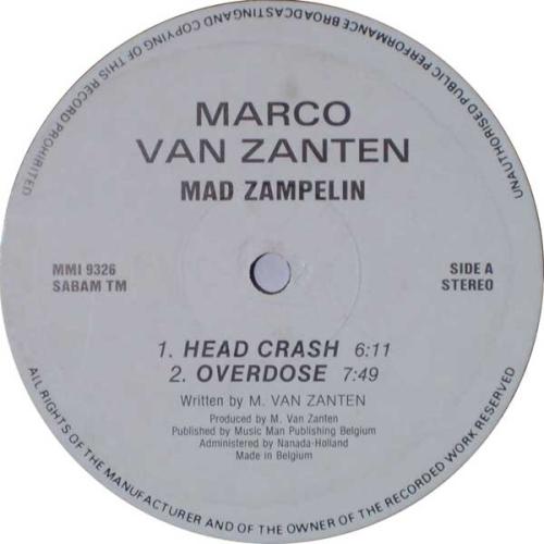 MARCO VAN ZANTEN - Mad Zampelin - Maxi x 1