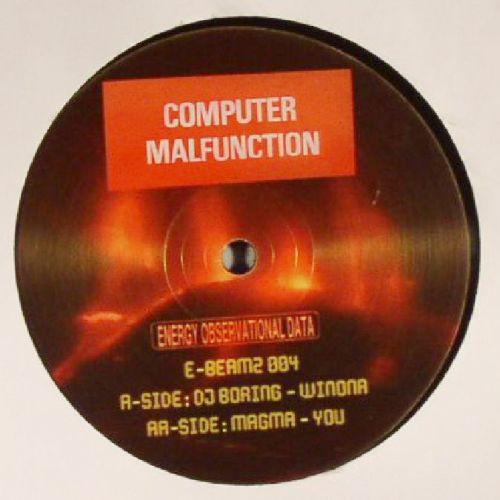 DJ BORING / MAGMA - Winona Ep - 12 inch x 1