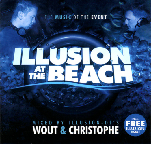 VARIOUS - Illusion At The Beach 2008 - CD x 2