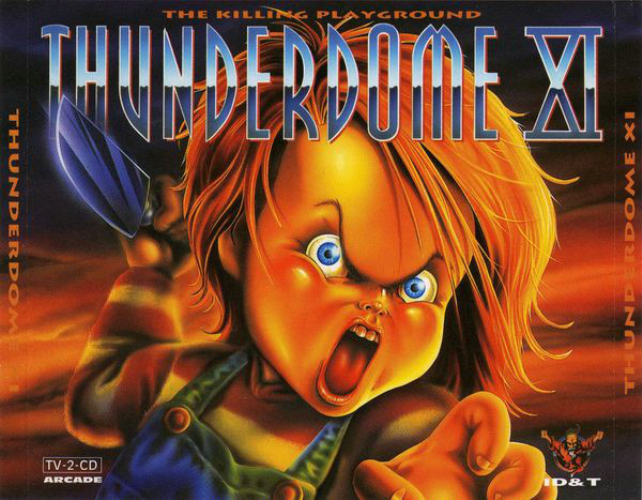 VARIOUS - Thunderdome Xi - The Killing Playground - CD x 2