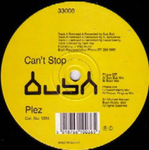 Can't Stop (2nd Hand)