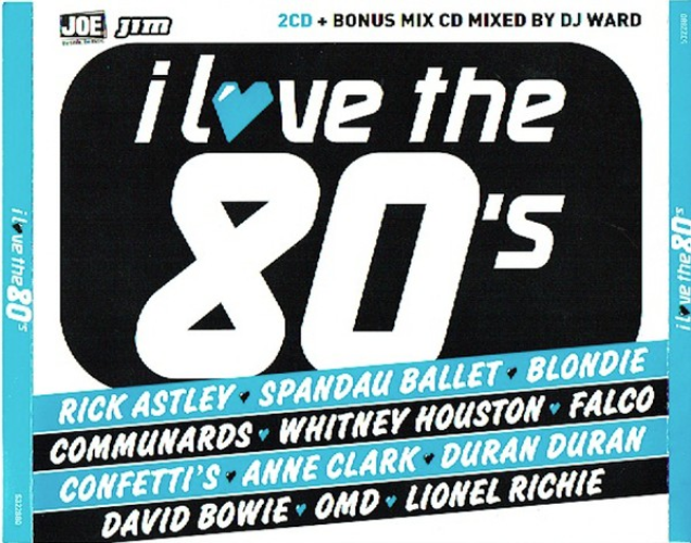 VARIOUS - I Love The 80's - CD x 2