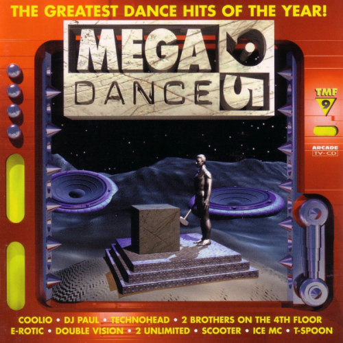 VARIOUS - Mega Dance 95 - The Greatest Dance Hits Of The Year! - CD