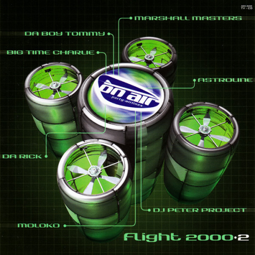 VARIOUS - On Air Party Airlines - Flight 2000.2 - CD