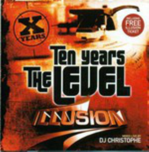 VARIOUS - Illusion - Ten Years The Level - CD x 2