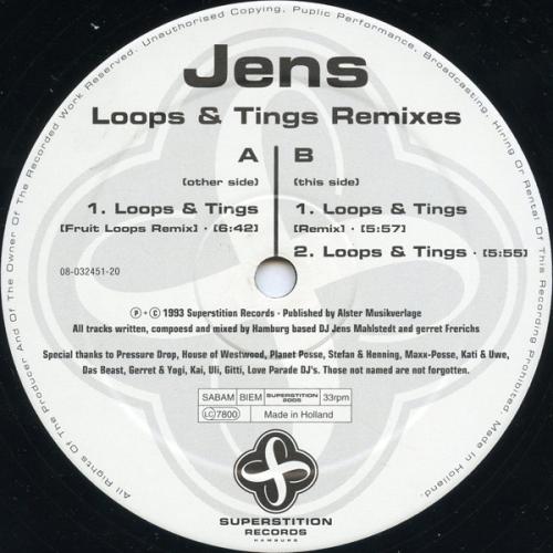 Loops & Tings Remixes