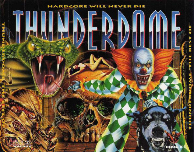 VARIOUS - Thunderdome ''the Best Of'' - Hardcore Will Never Die - CD x 3