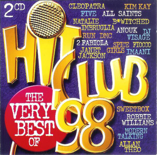 VARIOUS - Hit Club 98 - The Very Best Of - CD 2枚