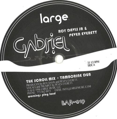 Gabriel (white Vinyl)