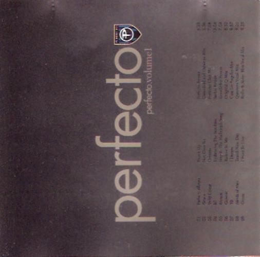 VARIOUS - Perfecto.volume 1 - CD