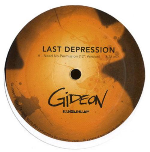 GIDEON - Last Depression - Maxi x 1