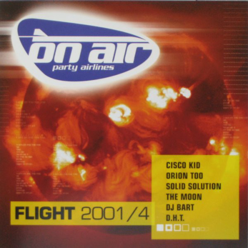VARIOUS - On Air Party Airlines - Flight 2001 / 4 - CD x 2