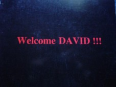 Welcome David !!! / Michael Is Back !!!