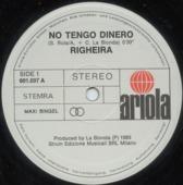 No Tengo Dinero (special 12' Mix)